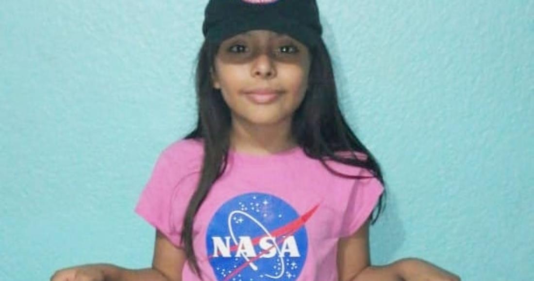 nasa - ¿Quién es Adhara Pérez, la niña mexicana cuya inteligencia es comparada con la de Einstein y Hawking?