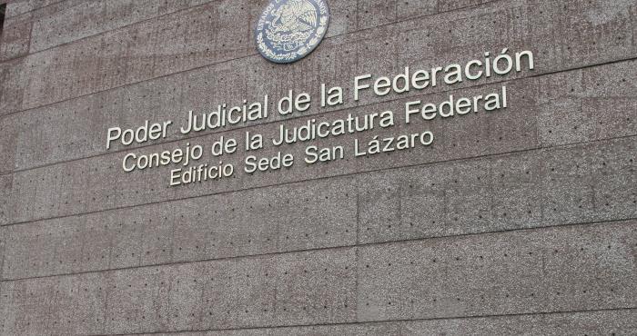 Edificio del Poder Judicial de la Federación.