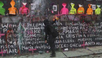 Protesta por el Dia de la Mujer en la CdMx