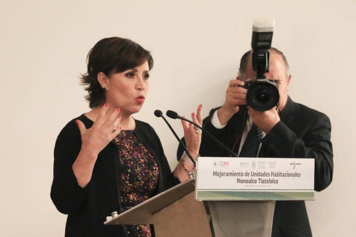Rosario Robles Berlanga, excolaboradora de Enrique Peña Nieto.