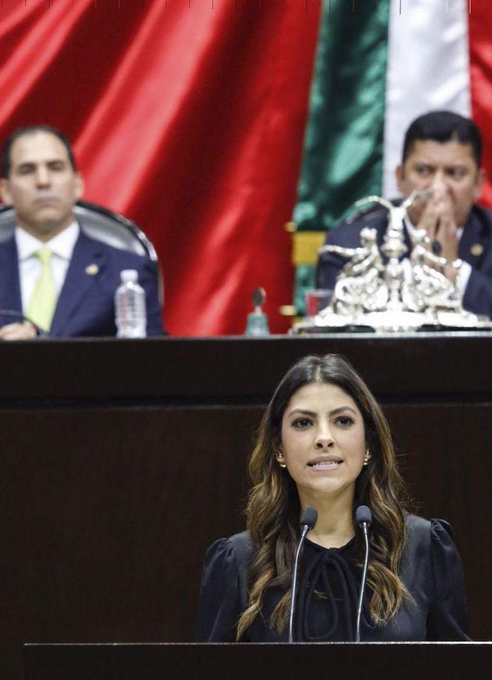 Sylvana Beltrones, hija del priista Manlio Fabio Beltrones, en 2016.