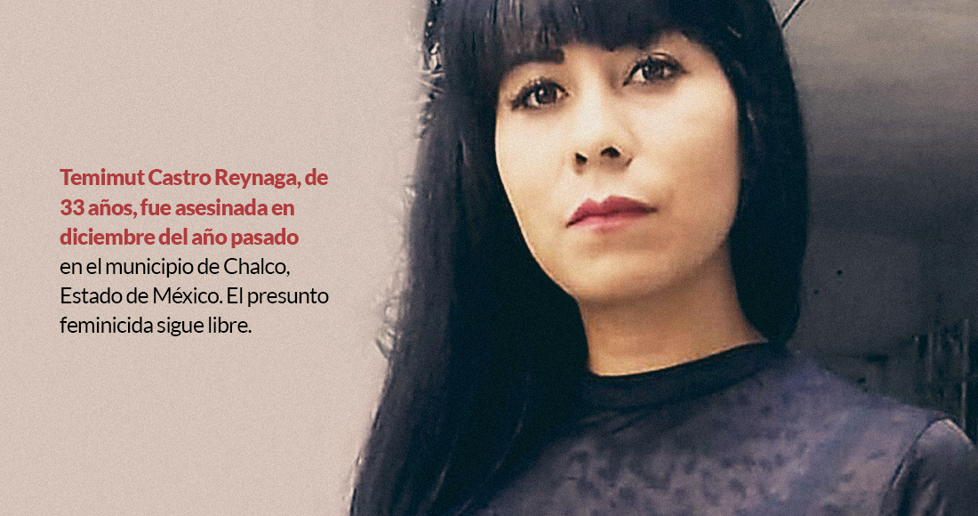 temicas - Andrea, de 21 años, es hallada sin vida en Edomex. Familia exige: no dejen ir a Bryan, pareja y asesino