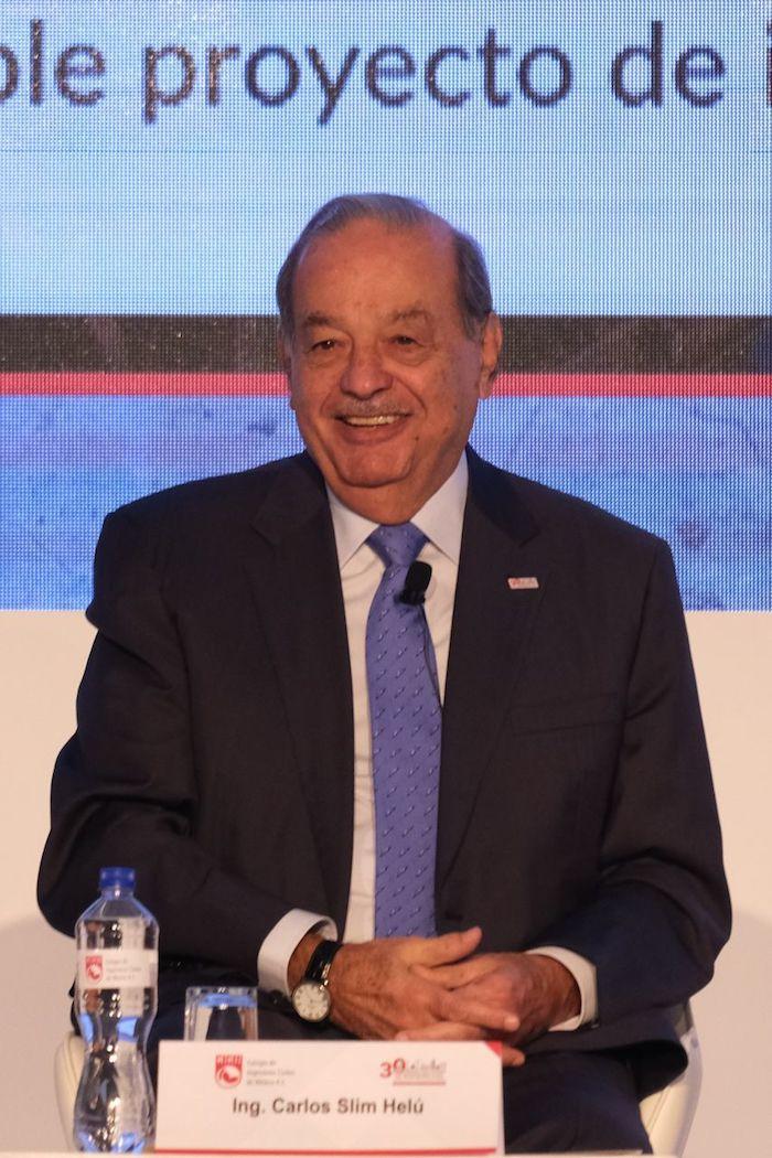 El ingeniero Carlos Slim Helú.