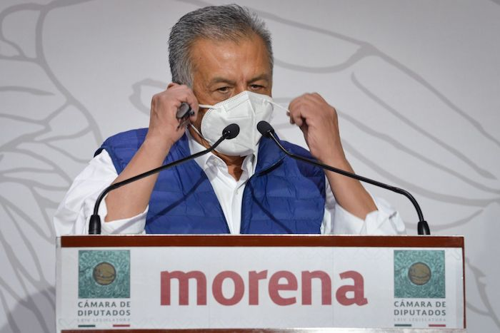 Conferencia de Benjamín Saúl Huerta Corona, Diputado de Morena, celebrada el pasado 21 de abril.