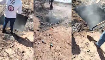Crematorio clandestino en Guaymas