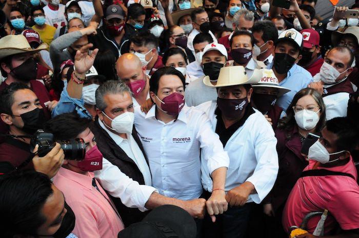 """cuartoscuro 809578 digital - Delgado: es """"un atraco"""" del INE y vamos al TEPJF, esto apenas inicia. Salgado acusa violencia política"""