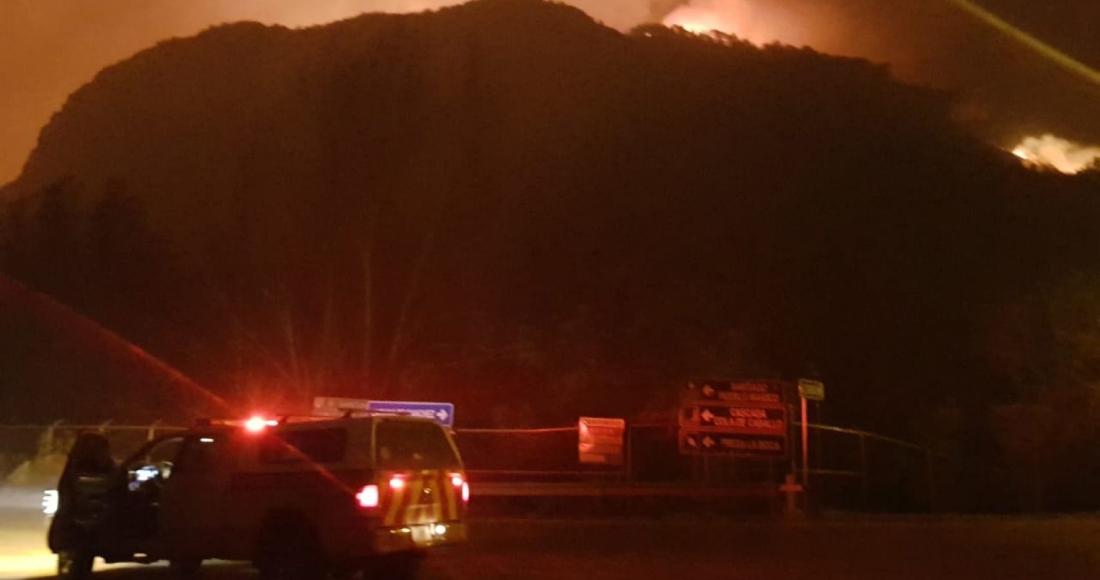 incendio1 1 - Incendio forestal en Tepoztlán, Morelos, consume 50 hectáreas de bosque; han controlado el 20%
