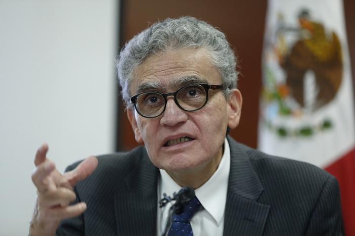 El presidente del Consejo Ciudadano para la Seguridad Pública y la Justicia Penal, José Antonio Ortega Sánchez.