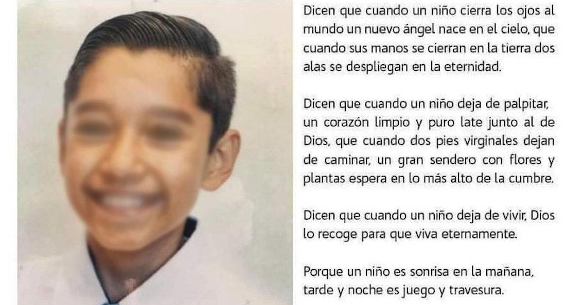 leo - Piden #JusticiaParaRodolfo, niño que murió víctima de bullying en SLP