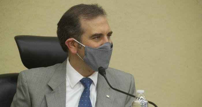 Lorenzo Córdova, Consejero presidente del INE.