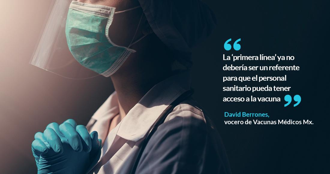 """medicovid - AMLO dice que no es """"justo"""" que médicos privados exijan vacunarse; acusa a opositores de alentar protestas"""