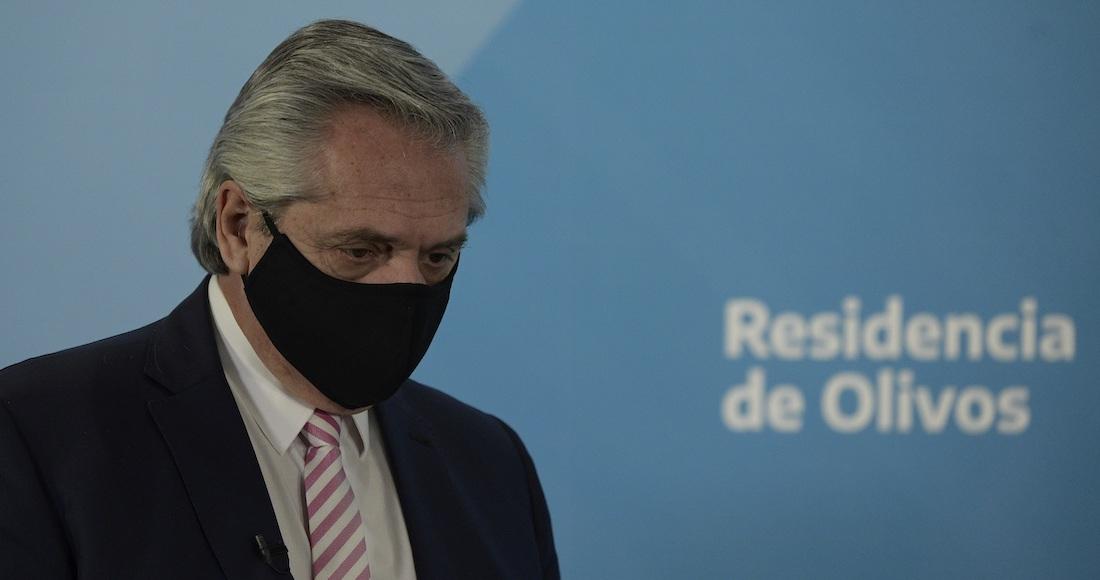 """presidente argentina - """"Alberto Fernández, amigo y Presidente de Argentina: deseo que te recuperes pronto"""": AMLO"""