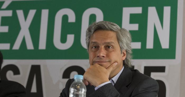 El activista Claudio X. González.
