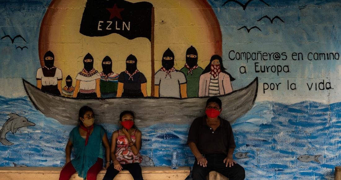 Zapatistas continúan su viaje en barco a Europa (VIDEO) | SinEmbargo MX