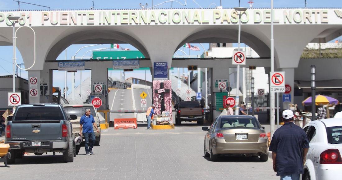 """frontera mexico eu - """"Siento mucha paz"""". Mexicanos van a El Paso para vacunarse contra COVID"""