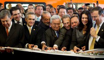 Inauguracion de la Linea 12 del Metro de la CdMx