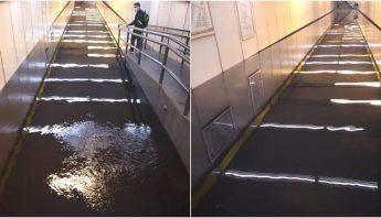 metro-inundado