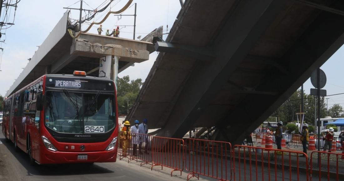 metrobus sustituira metro l12 - CdMx habilita ruta emergente de Metrobús de Tláhuac a Coyuya