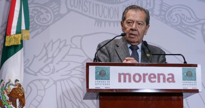 El Diputado Porfirio Muñoz Ledo.