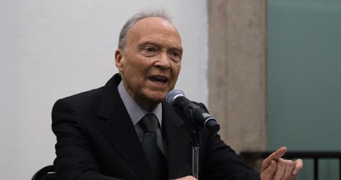 Alejandro Gertz Manero, titular de la Fiscalía General de la República (FGR).