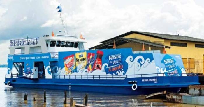 Barco de Nestlé.
