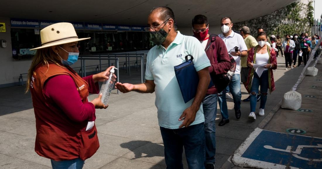 covid 19 - La CdMx aplicará vacunas COVID a adultos de 40 años en Iztapalapa