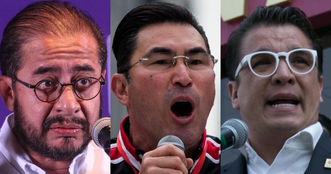dirigentes del pes rsp y fm - PES, RSP y Fuerza X México inician su camino hacia el adiós en el INE