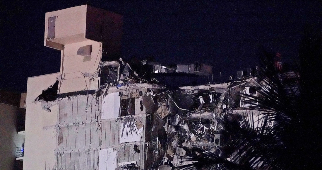edificio derrumbado en miami - Rescatistas de México e Israel ayudan en colapso de edificio en Miami