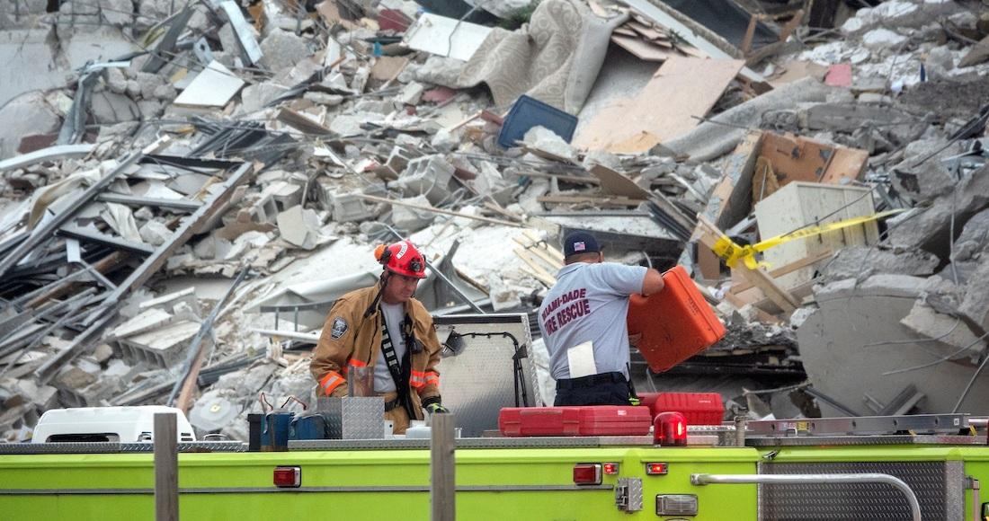 El derrumbe de edificio en Miami ya suma 3 muertos, dicen medios