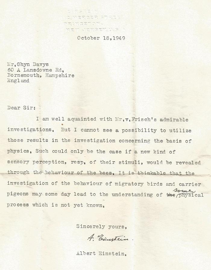 news einstein letter p 1220x1565px 72dpi - ¿Einstein anticipó nuevos principios físicos con el estudio de animales?