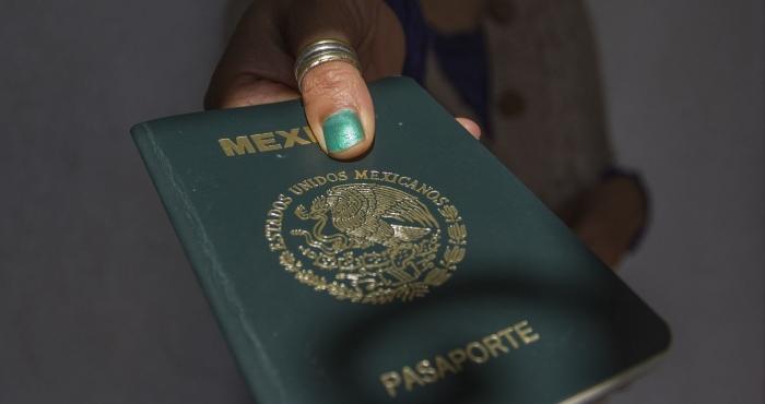 Pasaporte de México.