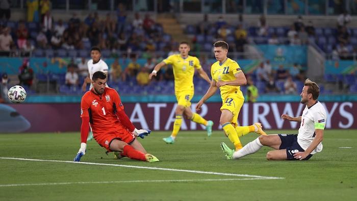 inglaterra ucrania 1 - Inglaterra termina con el sueño de Ucrania y lo golea 4-0 para avanzar a semis