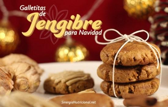 Receta: Galletitas de Jengibre para navidad