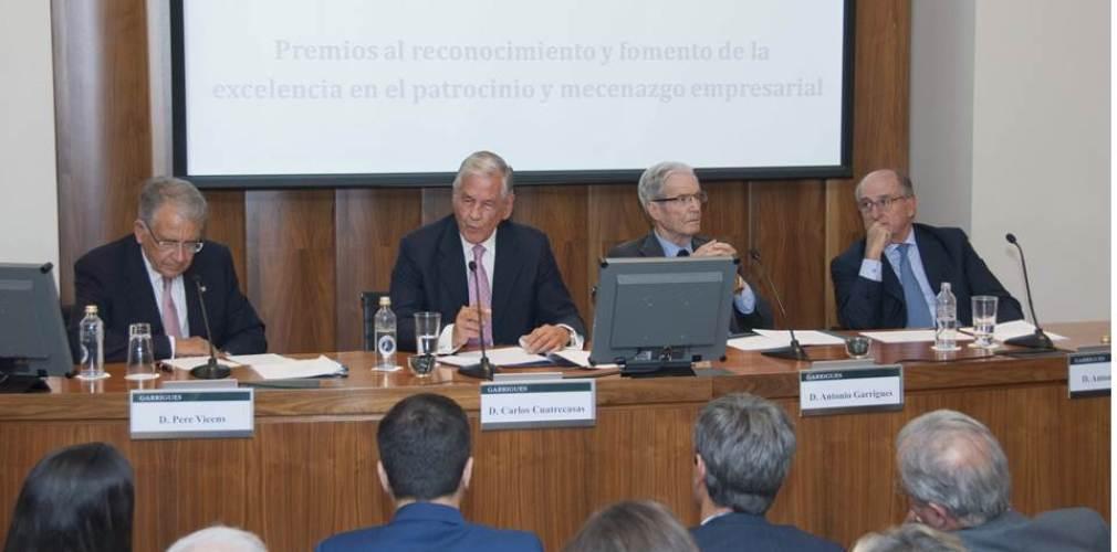 Lliurament dels Premis Carlos Güell 2015 al Patrocini i Mecenatge Empresarial (XXIIa edició)