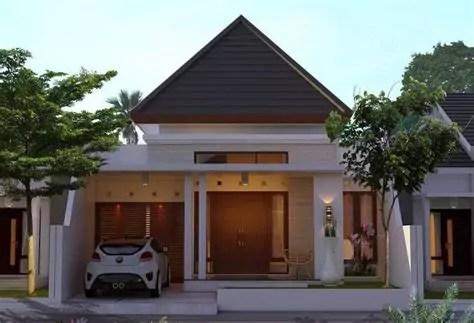 contoh rumah sederhana tapi mewah tempat tinggal