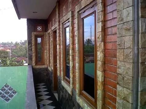 batu alam desain dinding rumah minimalis grosir