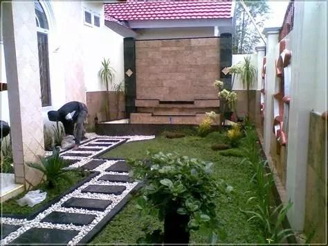 taman minimalis depan rumah indah ilmutekniksipilcom