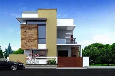 inspirasi desain rumah batu alam minimalis modern