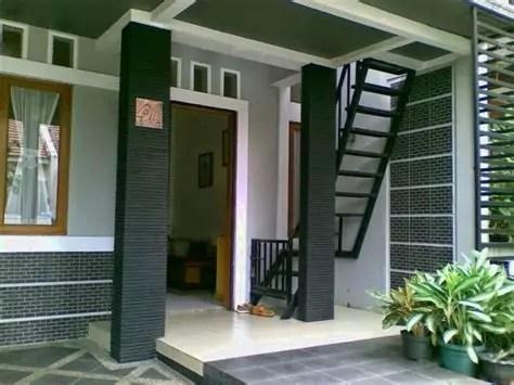 desain teras rumah minimalis modern type terbaru