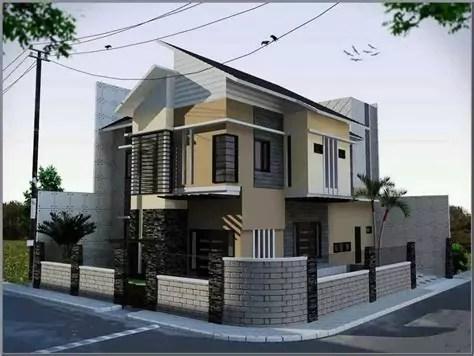 desain pagar rumah minimalis ndik home