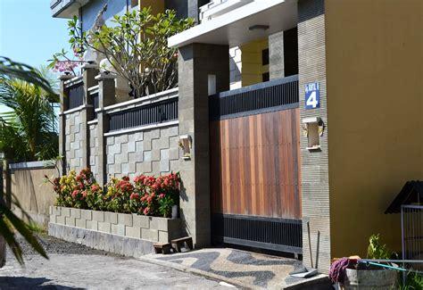 desain pagar batu alam ndik home