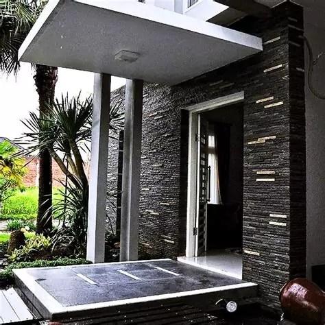 desain rumah batu alam arsitek indo kontraktor