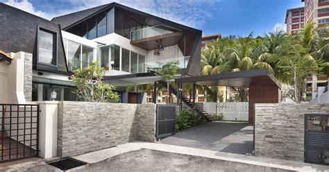 desain pagar batu alam rumah minimalis