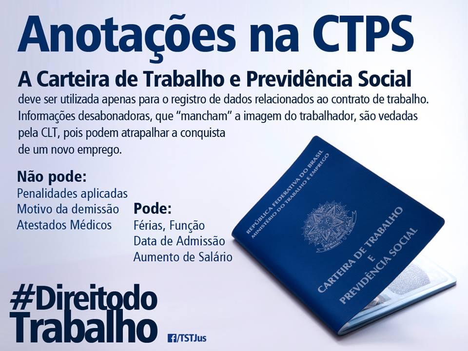 Resultado de imagem para CTPS