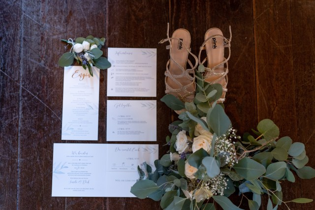 stationary for a wedding in tuscany