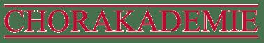 Logo Chorakademie