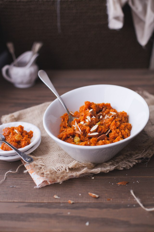 Sinfully Spicy :Gajar Halwa-Indian Carrot Confection002