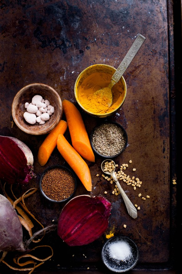 Sinfully Spicy - Gajar Kaanji, Fermented Carrot-Mustard Drink