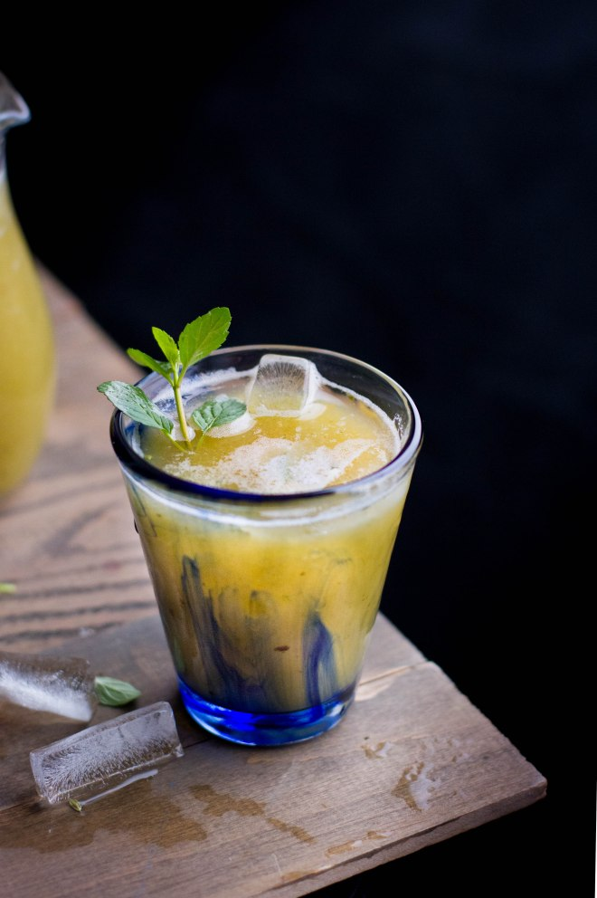 Sinfully Spicy - Aam Pana, Green Mango, Mint & Cardamom Drink #indian