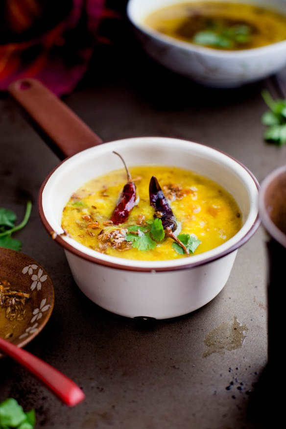 Sinfully Spicy- Dal Tadka, Tempered Yellow Lentils